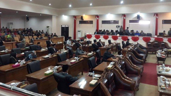 Separuh Anggota DPRD Tanjab Barat Absen Saat Pidato Kenegaraan Presiden Joko Widodo