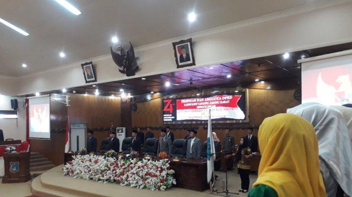 DPRD Tanjab Barat Gelar Rapat Paripurna, Dengarkan Pidato Presiden Joko Widodo