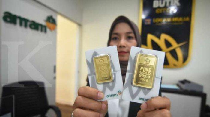 Harga Emas Antam Senin (4/11) - Turun Tipis di Level Rp 763.000/gram
