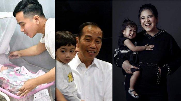 Arti Nama 3 Cucu Jokowi - Jan Ethes Srinarendra, Sedah Mirah Nasution, La Lembah Manah