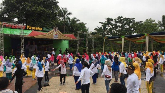 Dimulai Dengan Olahraga Inilah Rangkaian Kegiatan Perayaan Hari Kesehatan Nasional di Kota Jambi