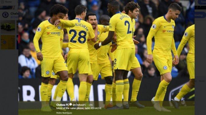 Hasil Liga Inggris Brighton vs Chelsea - Tumbangkan Brighton, Chelsea Tak Ubah Posisi di Klasemen