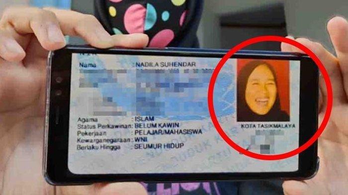KRONOLOGI Kolom Foto KTP Wanita Ini Pakai Wajah Tertawa, Berawal dari Candaan Sang Kakak dan Viral