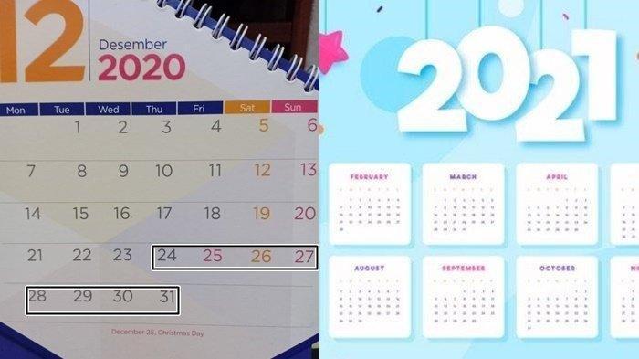 Jadwal Lengkap Libur Natal 2020 dan Tahun Baru 2021 Cuti Bersama, Semula 11 Hari, Sekarang Segini