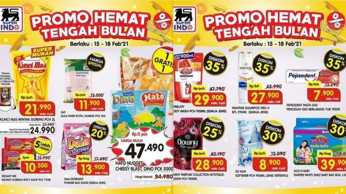 Promo Superindo Hari Ini 16 Oktober 2021, Minyak Goreng Rp 21.990, Gula Pasir Rp 11.900, DLL