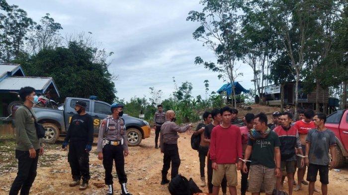 Polda Jambi Tetapkan 10 Tersangka Kasus Ilegal Drilling di Mandiangin, Satu Pemodal Dalam Pengejaran