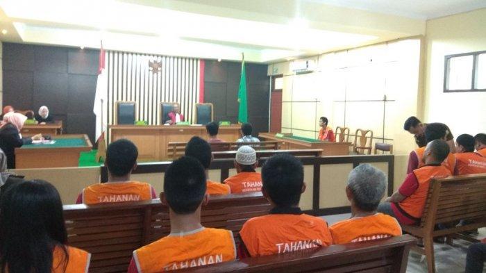 Terdakwa Tega Jual Motor Teman, Cuma untuk Judi dan Narkoba, di Persidangan Cuma Bilang Menyesal