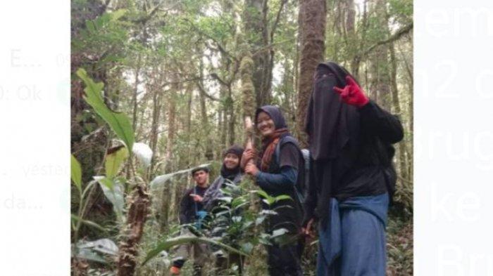 Cerita Siti Rahayu, Satu Diantara Pendaki yang Dikabarkan Hilang di Gunung Masurai, Kini Sudah Aman