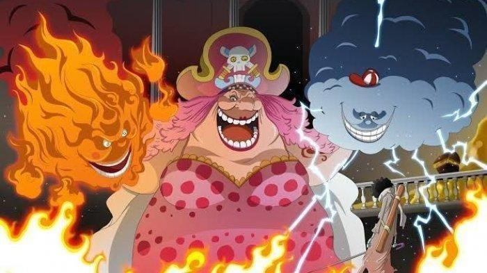 Prometheus, Big Mom dan Zeus di One Piece