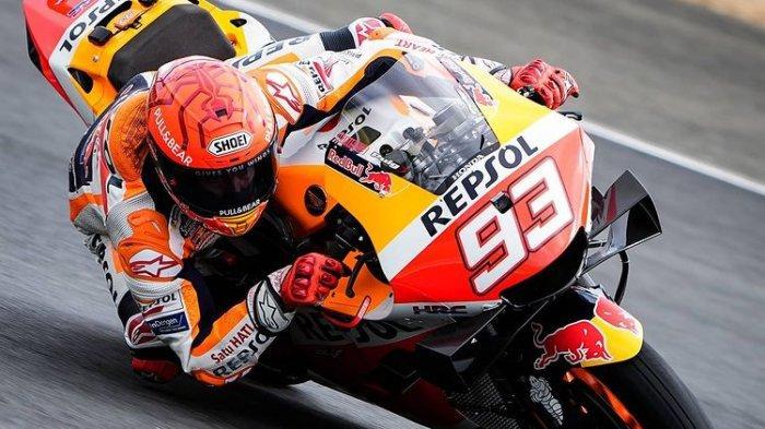 Marc Marquez Gagal Finish di MotoGP Perancis 2021