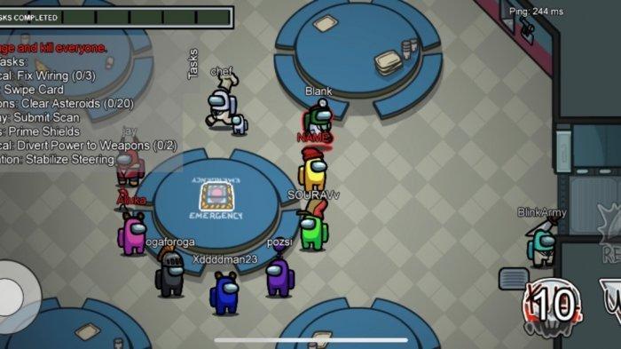 Diunduh 87 Juta Kali, Lagi Viral Game Among Us di Android, Begini Cara Mainnya, Simpel dan Seru