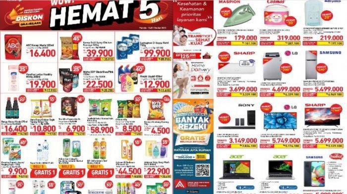 Promo Transmart Carrefour WOW Hemat Hari Terakhir, Sedia Susu Anak, Beras dan Detergen