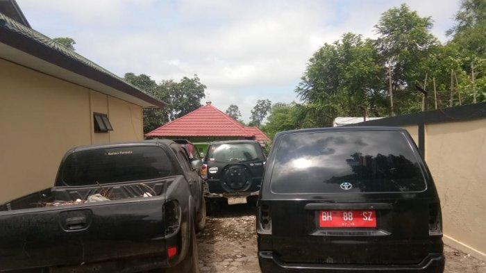 Mobil Dinas di Sarolangun Banyak Tak Gunakan Logo Pemda, Sekda Bereaksi