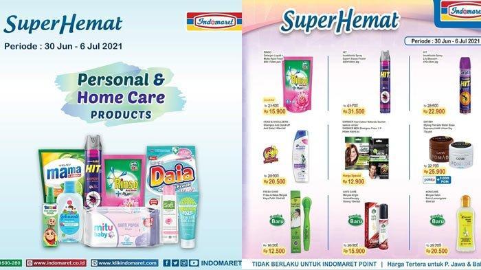 Promo Indomaret Hari Ini Dan Untuk Besok 2 Juli 2021 Super Hemat Detergen Susu Diapers Telur Minyak