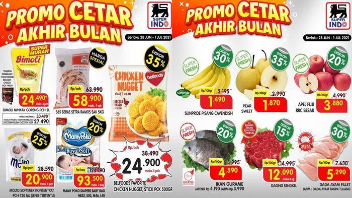 Promo Superindo Hari Ini 1 Juli 2021 Promo Cetar Minyak Goreng Bakso Buah buahan Daging Detergen DLL
