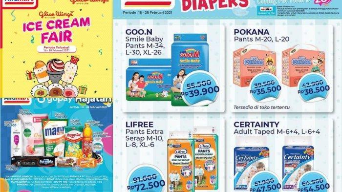 Katalog Promo Alfamart Hari Ini 17 Februari 2021, Promo Serba, Potongan Langsung, Ice Cream Fair
