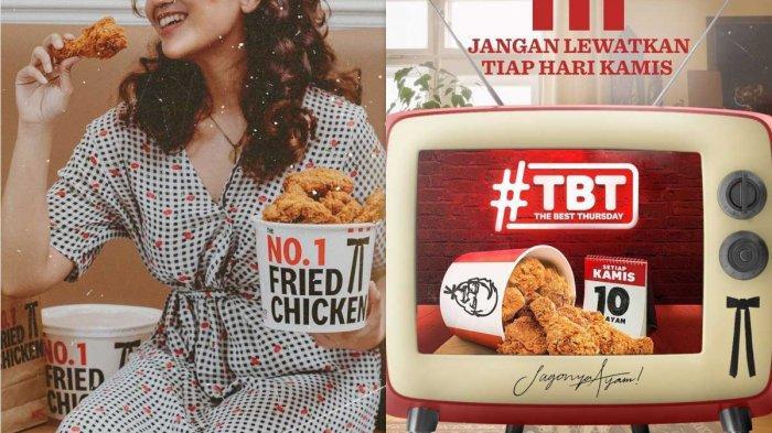 Promo KFC Hari Ini 17 Juni 2021 KFC The Best Thursday 10 Potong Ayam Goreng Rp 90.000 Aja