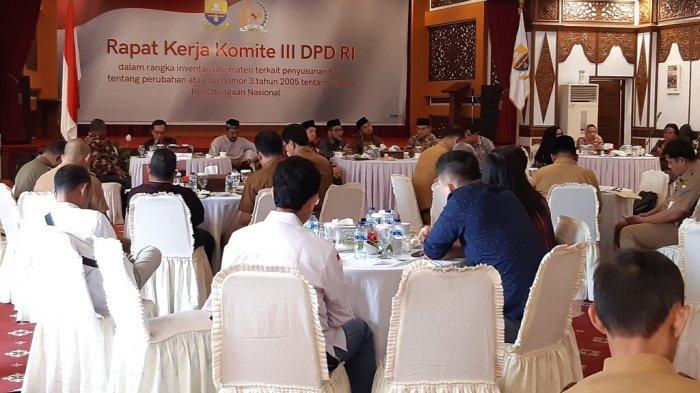 Ketemu Komite III DPD RI, Pemprov Jambi Ngadu Olahraga Jambi Terganjal Anggaran Minim