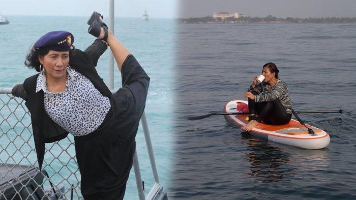 Susi Pimpin Penenggelaman 81 Kapal Pencuri Ikan
