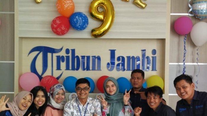 HUT Tribun Jambi ke 9, Perayaan Usung Tema Digital Line