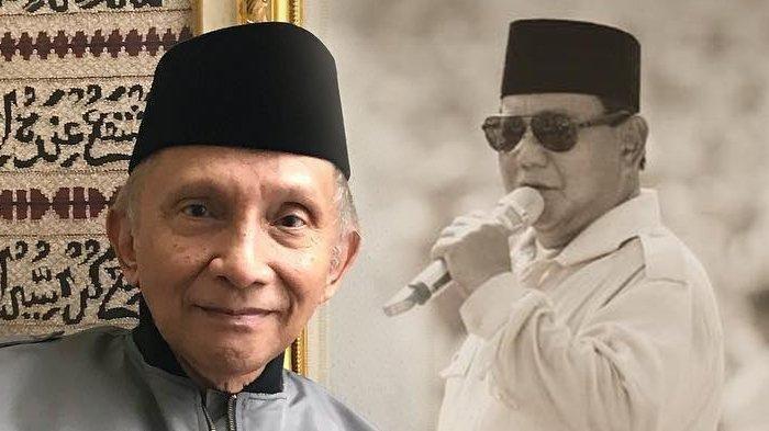 Prabowo Ketemu Jokowi, Amien Rais Kecewa Tak Dimintai Izin, Dahnil Anzar Percaya Komitmen Prabowo
