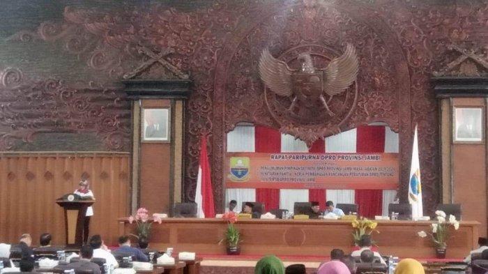 Penetapan Calon Pimpimpinan DPRD Jambi Masih Tunggu Kemendagri