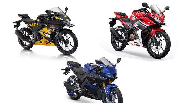 Honda CBR, Yamaha R25, Suzuki GSX