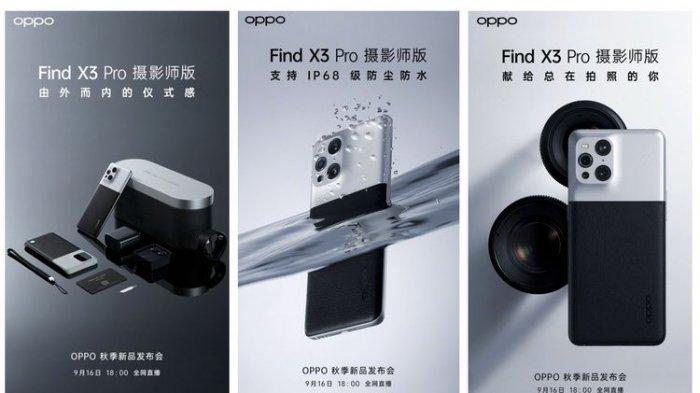 Spesifikasi Oppo Find X3 Pro Photographer, Terinspirasi Kamera Klasik Kodak, Dibanderol Rp 14 Juta