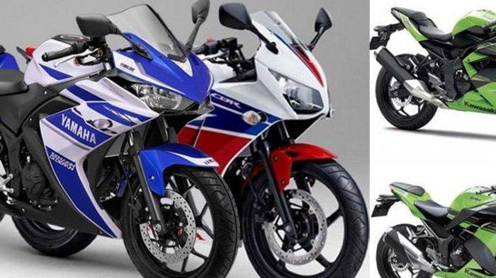 Daftar Harga Motor Sport 150-250cc - Honda CBR, Suzuki GSX, Kawasaki Ninja, Yamaha R25, KTM Duke