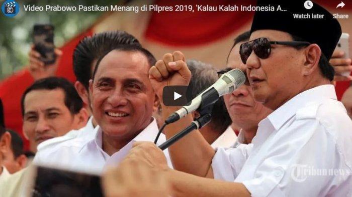 Bandingkan dengan Tukang Ojek, Prabowo: Kalau Kalian Tidak