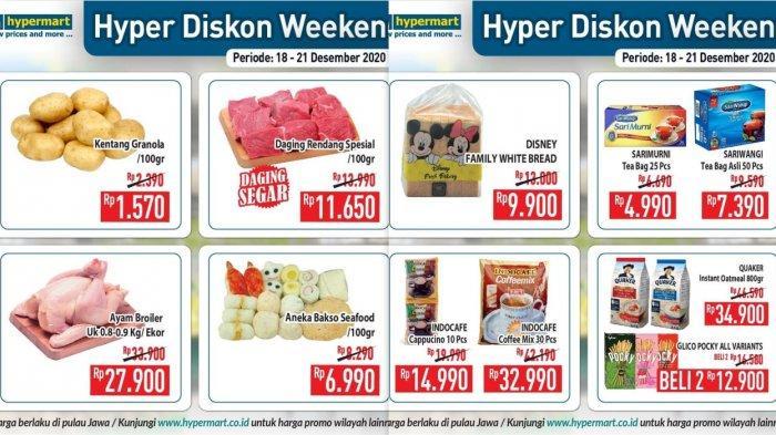 Promo Terbaru Hypermart 18-21 Desember 2020, Diskon Margarin Daging Buah Ayam Susu Popok Tissue