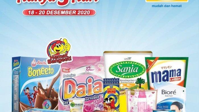 Promo Indomaret Terbaru 18-20 Desember 2020, Minyak Goreng Sania Rp 26.200