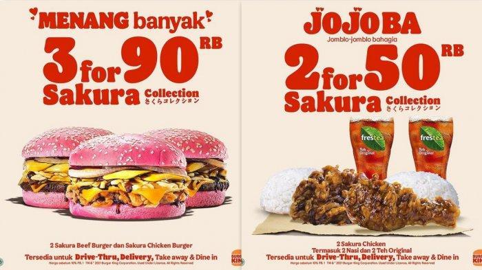 Promo BurgerKing Hari Ini Hingga 28 Februari 2021, Diskon Up To 50% & Harga Dari Rp 35 Ribuan