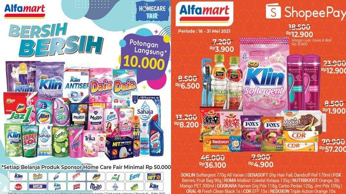 Promo Alfamart Hari Ini 29 Mei 2021 Kebutuhan Rumah Tangga Hingga Snack Fair Tersedia