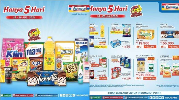 Promo Indomaret Hanya 5 Hari Jelang Idul Adha 2021, Promo Minyak Goreng Detergen Susu Snack DLL