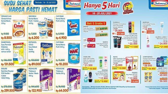 Promo Indomaret Sambut Hari Raya Idul Adha 2021, Promo Margarin Minyak Goreng Susu Diapers Snack