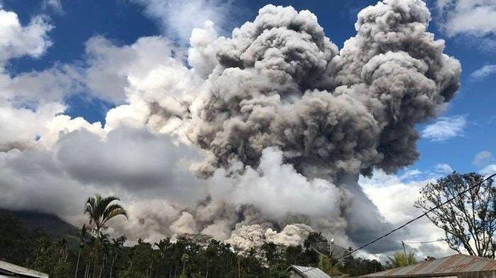 DOKUMEN - Letusan Gunung Sinabung