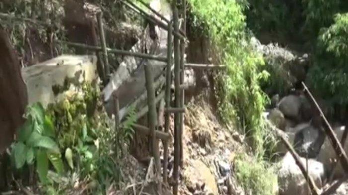 Tiga Tahun Irigasi di Desa Ulu Air Rusak, Warga Minta Perhatian Pemkot Sungai Penuh