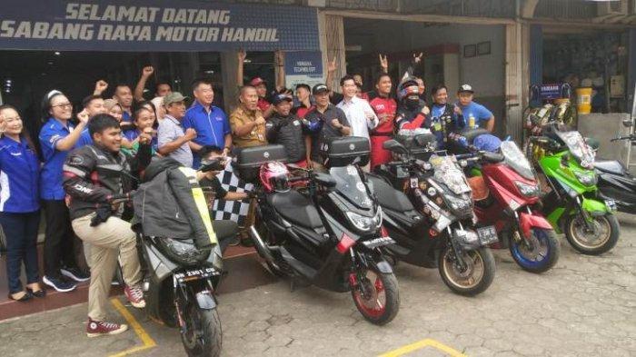 Welcome Home Ride for Moms ke II, Setelah Jambi-Mekkah, Lilik ajak Anak dan Isteri Touring ke KM 0