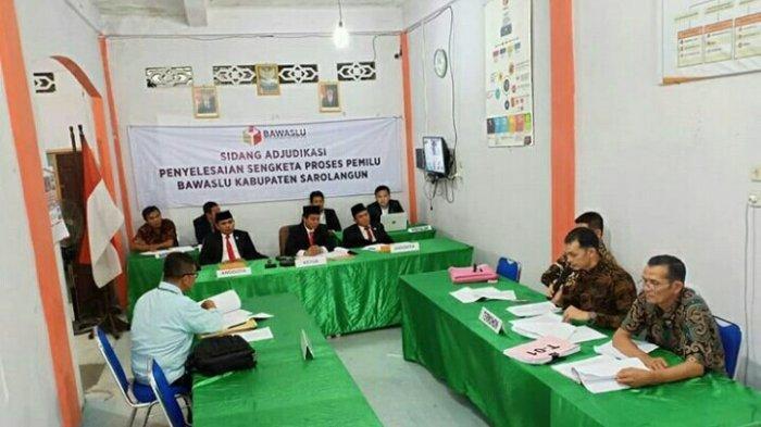 Tak Terima Dicoret dari DCT, 7 Caleg DPRD Sarolangun Ajukan Koreksi ke Bawaslu RI