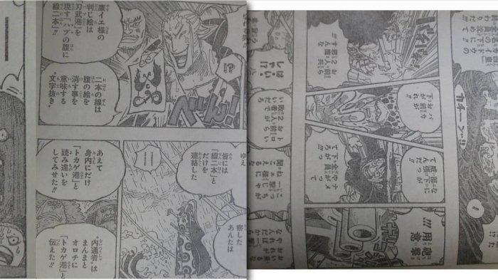 One Piece Chapter 975 Rencana Kinemon - Kyoshiro Buka Penyamaran, Luffy Kid & Law Bertarung Bersama