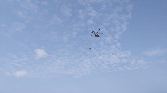 Tiga Kecamatan di Tanjab Timur Kebakaran, BPBD Jambi Kirim Dua Helikompter Water Bombing