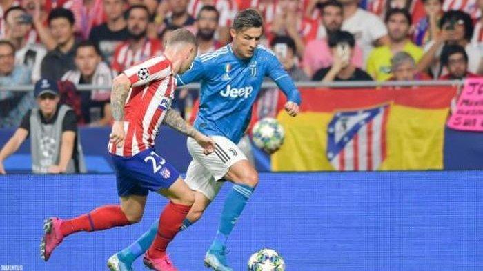 Hasil Liga Champions - Atletico Madrid 2-2 Juventus, Cristiano Ronaldo 2 Kali Nembak
