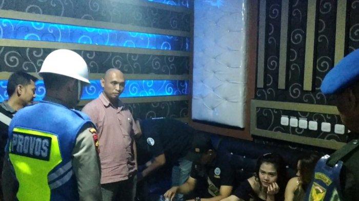 Tim Gabungan Denpom Jambi, Polda Jambi dan BNNP Jambi Raziai Tujuh Tempat Hiburan Malam