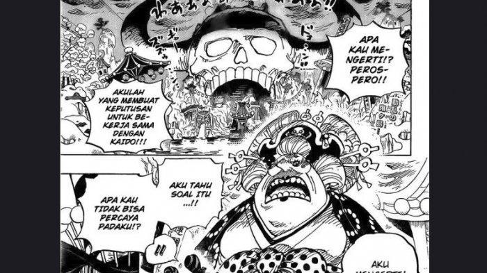 Spoiler One Piece 993 - Wanokuni's Dream, Pernikahan Lola dan Gotti, Kaido vs Pengikut Kozuki Oden