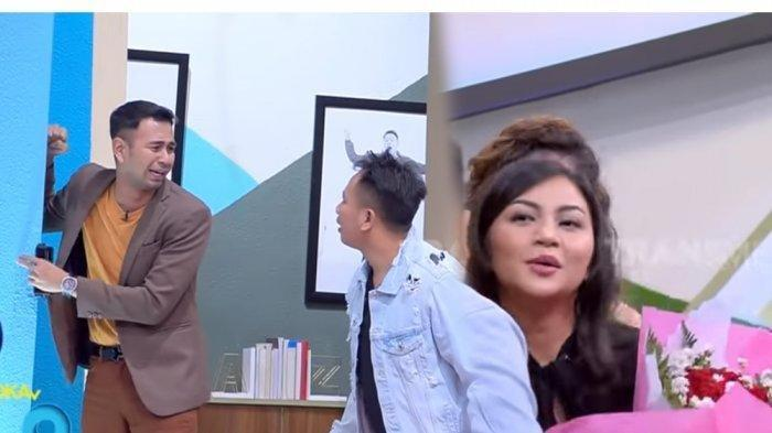 Ogah Dipeluk Raffi Ahmad, Ariel Tatum Malah Mau Dicium Pipinya oleh Vicky Prasetyo
