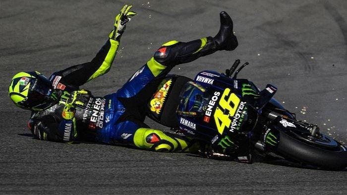 Terancam Kontrak Putus di Yamaha, Valentino Rossi Berpeluang Gabung Aprilia, Kembali ke Cinta Lama?