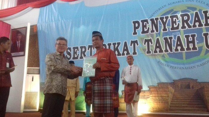 1,2 Juta Bidang Tanah di Jambi Belum Tersertifikat, Kepala BPN Jambi: Gratis Tidal Dipungut Biaya