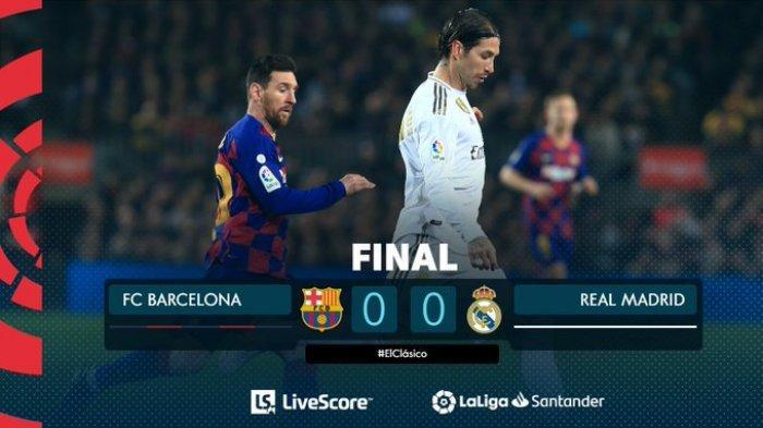 Barcelona vs Real Madrid, El Classico Paling Membosankan Selama 17 Tahun Terakhir, Ini Alasannya