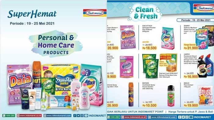 Promo Indomaret  Terbaru Hanya 3 Hari Harga Murah Beras Minyak Goreng Tepung Diapers Aneka Snack DLL